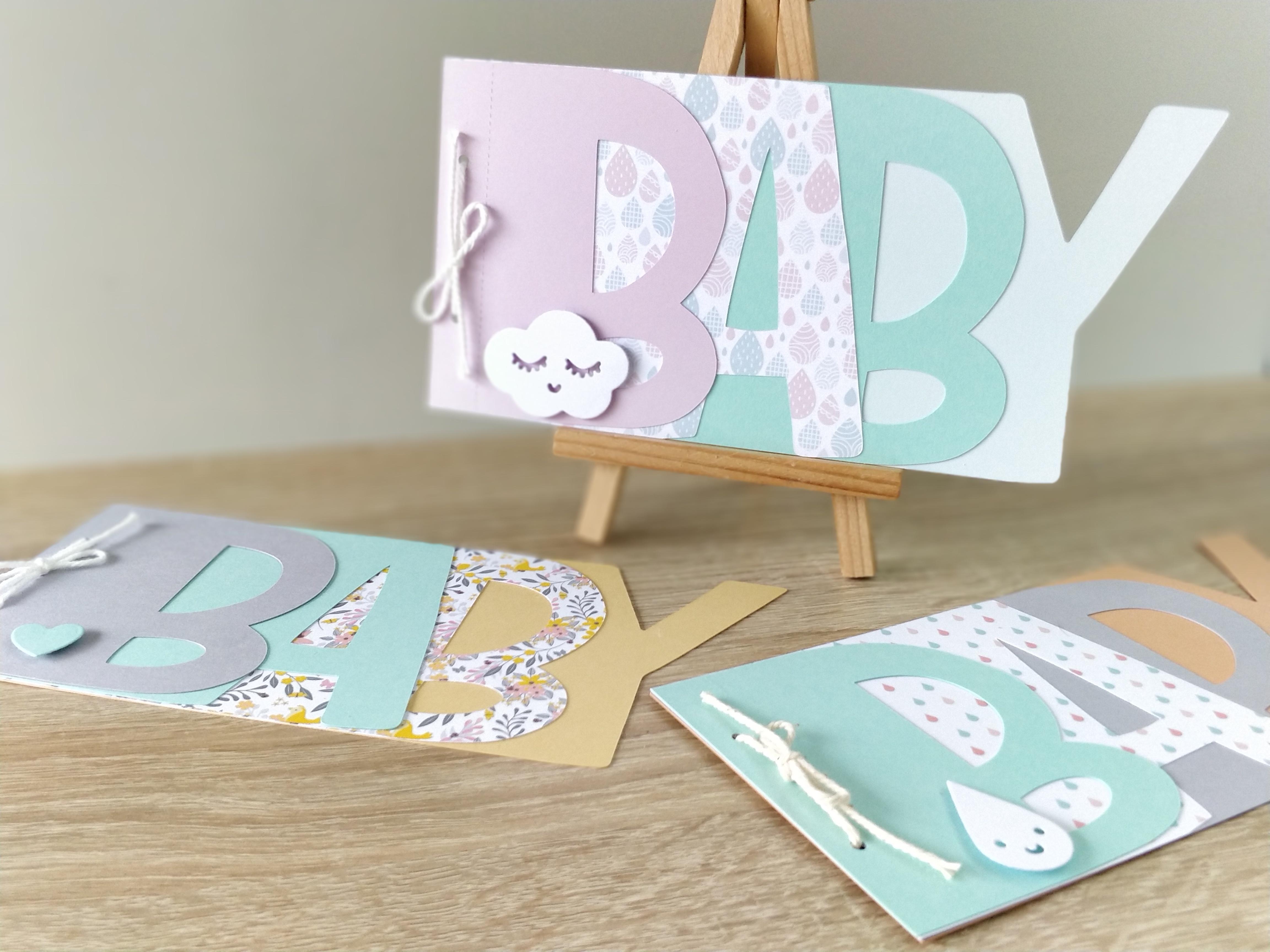 Faire-part invitation Baby Shower