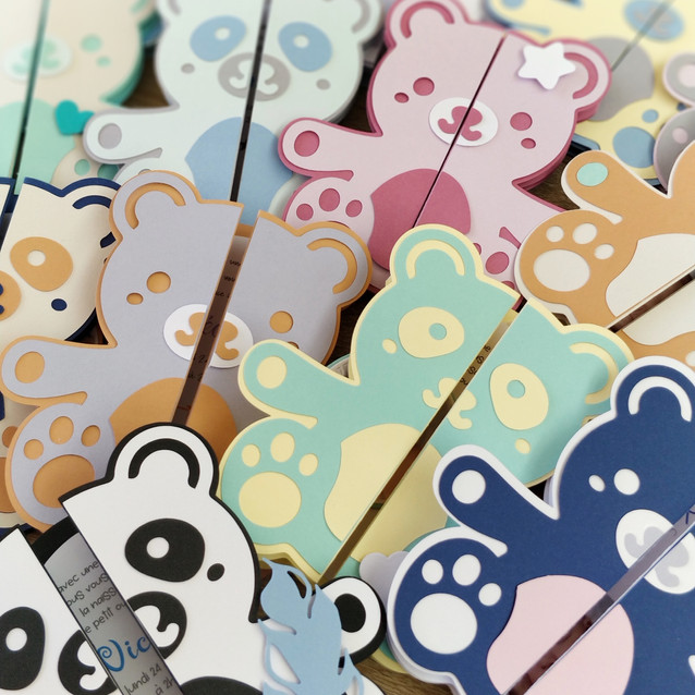 Faire-part Ourson / Panda Mignon
