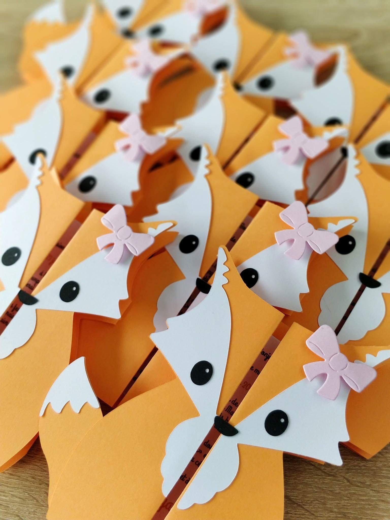 Petits renards de naissance