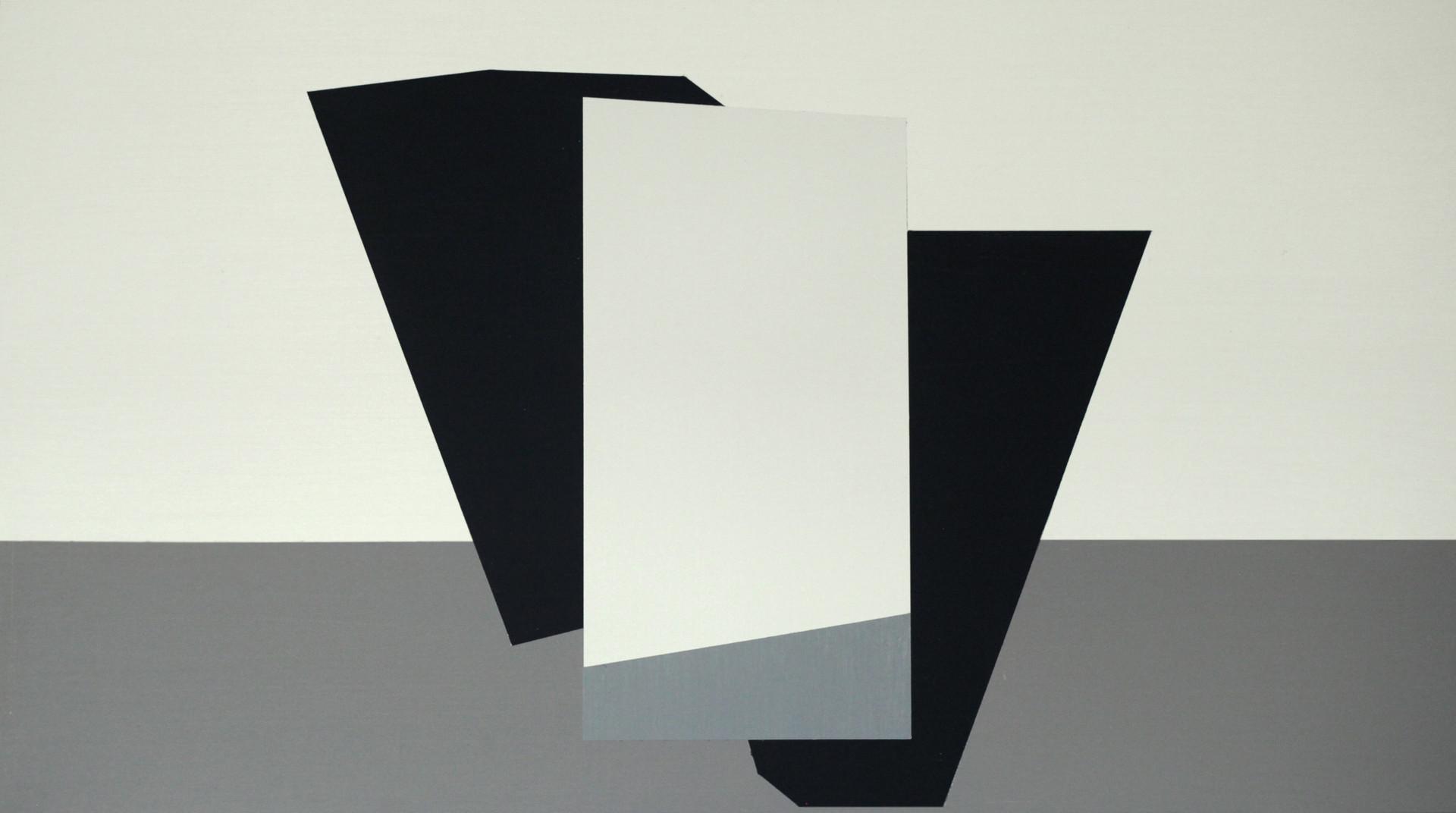 Plet, oil on board, 73 x 40.8 cm, 2020