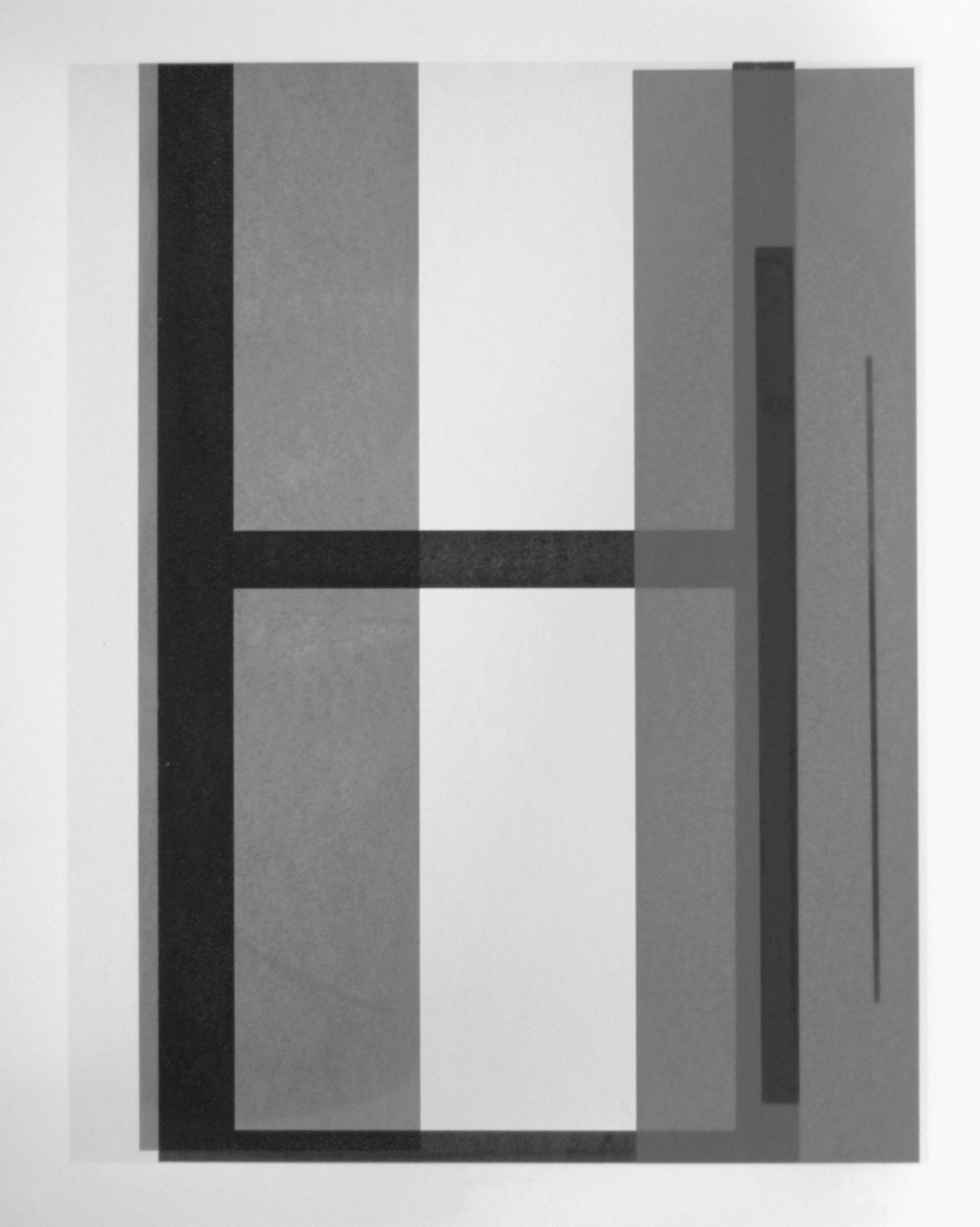 Aperture iv, screen print on paper, 50 x 73 cm, 2018