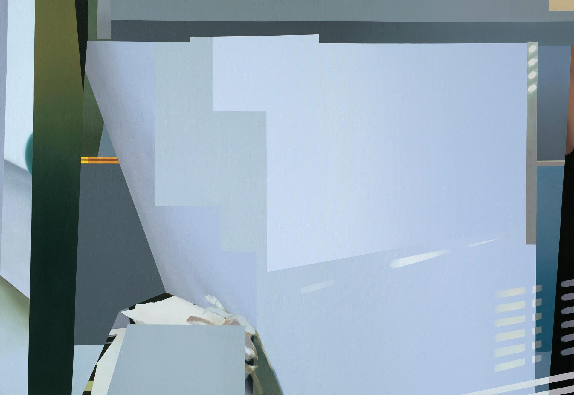 24-02-16-04, oil and acrylic on canvas, 195 x 135 cm, 2019