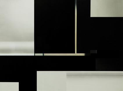 Gable End, oil on canvas, 135 x 100 cm, 2020