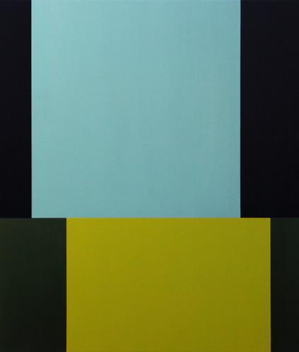 Cyfer, oil on canvas, 95.4 x 111.3 cm, 2021