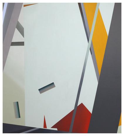 03-03-08-04, oil and acrylic on canvas, 125 x 140 cm, 2019