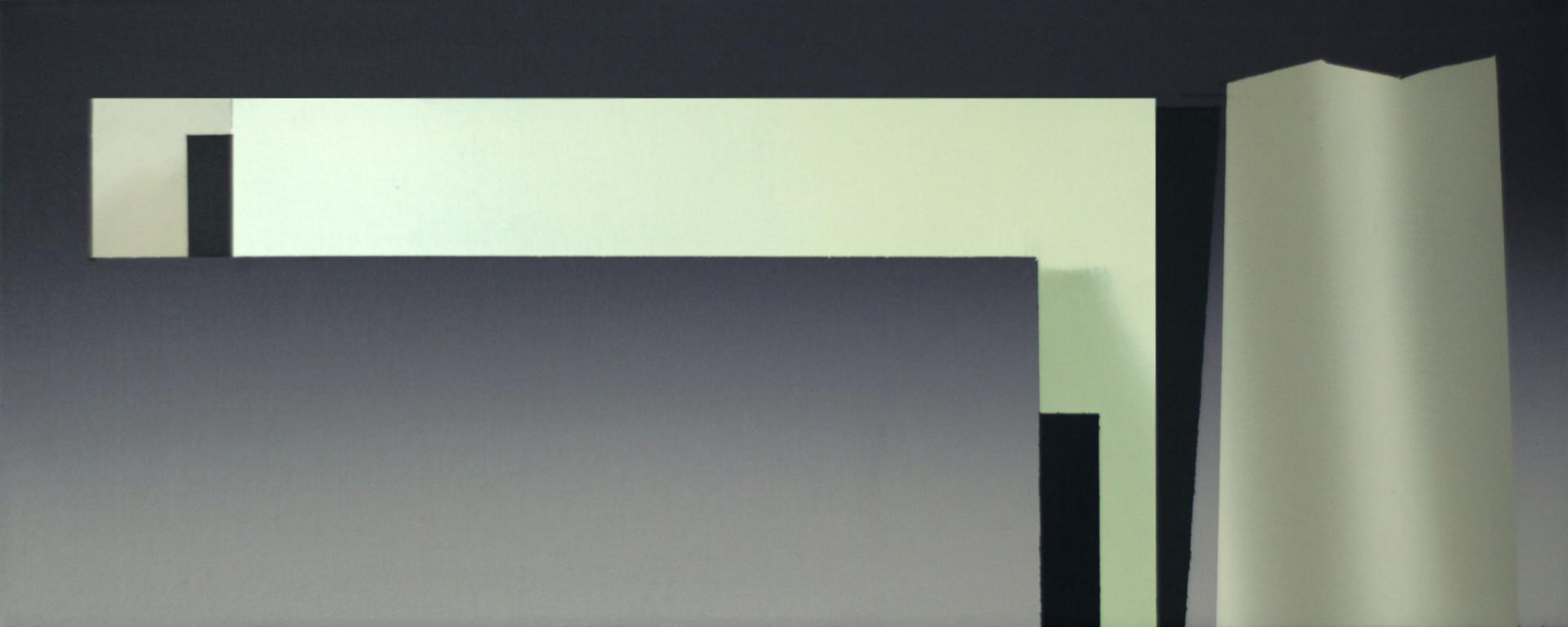 Plyg, oil on canvas, 50 x 20 cm, 2020