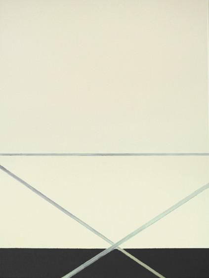 Noslun xi, oil on canvas, 45 x 60 cm, 2021