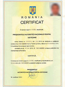 Гражданин Румынии