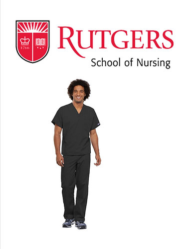 Rutgers School of Nursing Replacement Set (Male)
