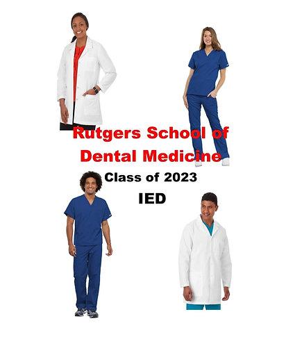 Rutgers School of Dental Medicine Uniform Package IED Class of 2023- Regular