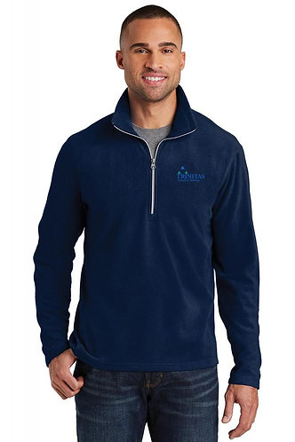 Trinitas Nursing Half Zip Fleece Jacket (With Name Embroidered)