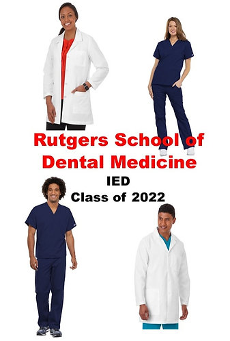 Rutgers School of Dental Medicine Uniform Package - IED Class of 2022