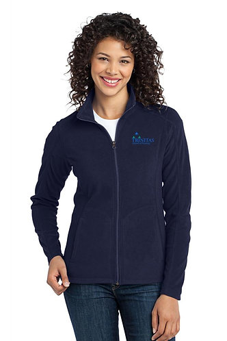 Trinitas Nursing Full Zip Fleece Jacket (With Name Embroidered)