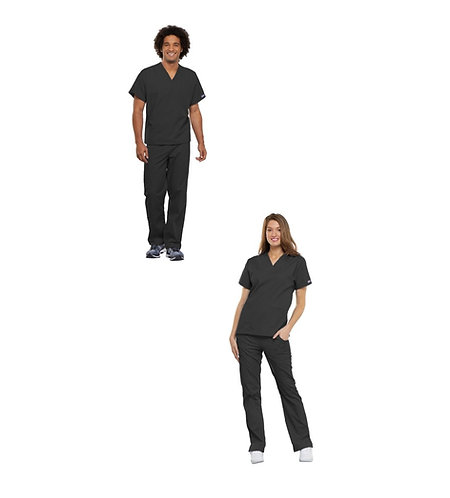 Rutgers SHP - Doctor of Physical Therapy Black Scrub Set