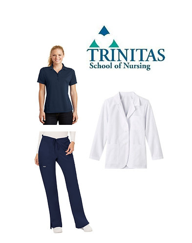 Trinitas Nursing Female Student Package (Regular Sizing)