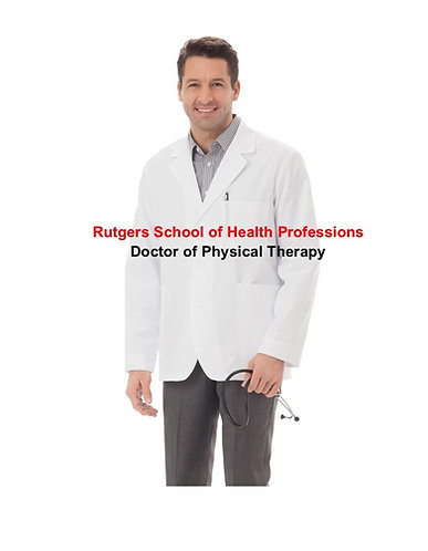 Rutgers SHP - Doctor of Physical Therapy Lab Coat