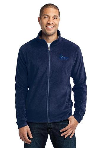 Trinitas Nursing Full Zip Fleece Jacket (With Name Embroidered)