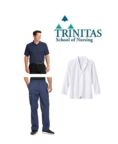 Trinitas Nursing Male Student Package (Extended Sizing)