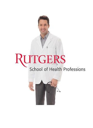 Rutgers School of Health Professions PA Program Lab Coat