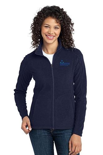 Trinitas Nursing Full Zip Fleece Jacket (No Name)