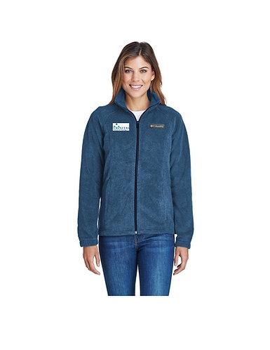 Trinitas Nursing Full Zip Columbia Fleece Jacket (With Name Embroidered)