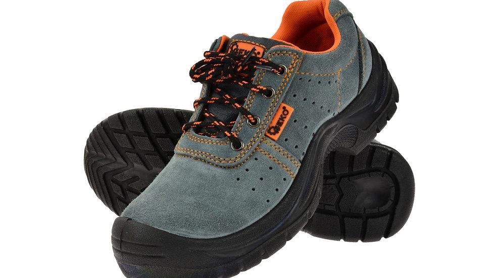 Buty robocze zamszowe