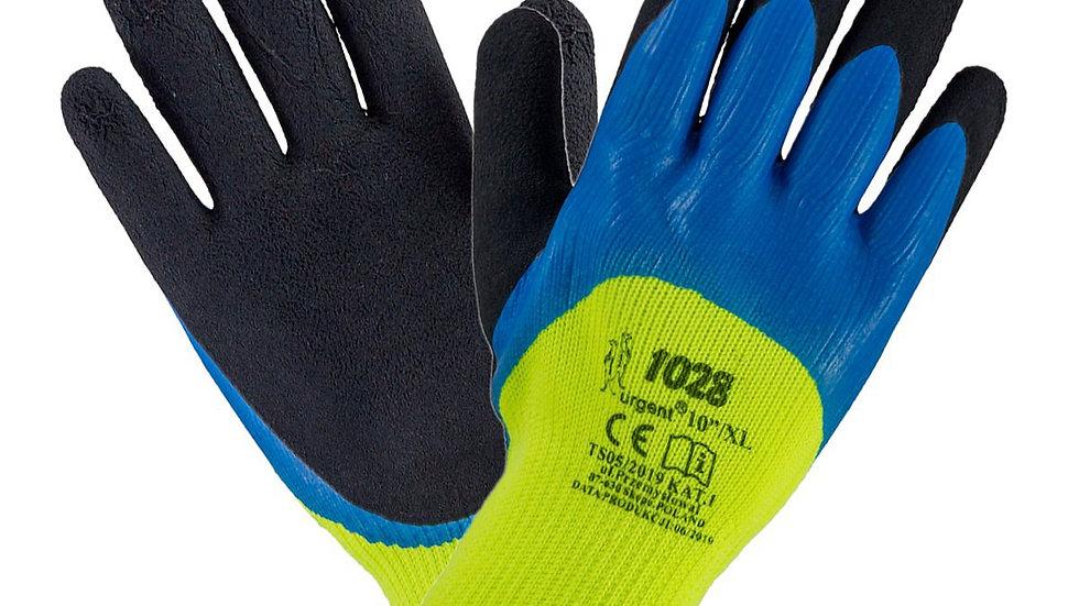 Rękawice ochronne lateksowe ocieplane