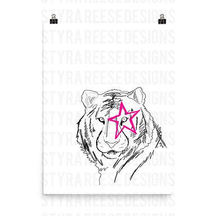 Tiger Punk Poster