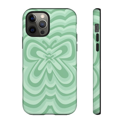 Sage Butterfly Phone Case