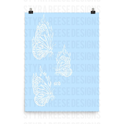 Butterfly Heat Poster