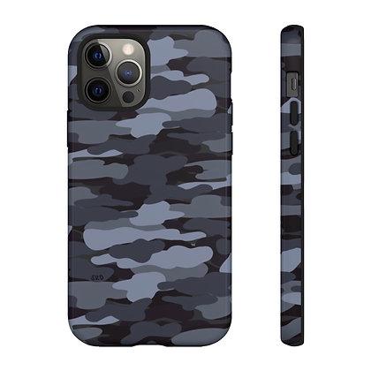 Gray Camo Phone Case
