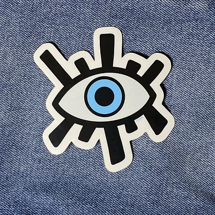 eye love you sticker