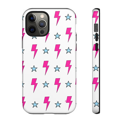 Bolts N' Stars Phone Case