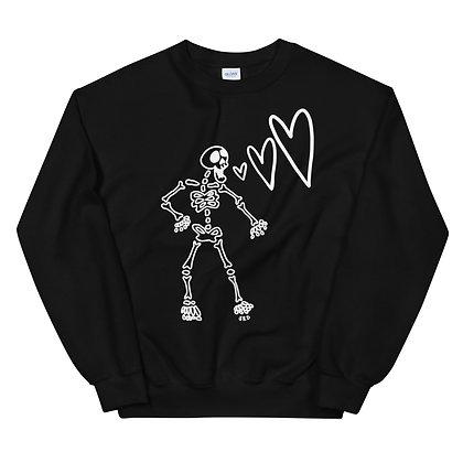 Skeleton <3 Crew Neck