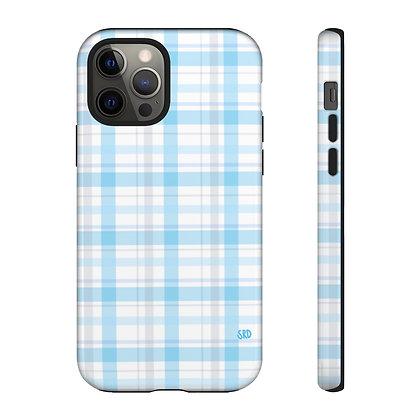 Blue Plaid Phone Case