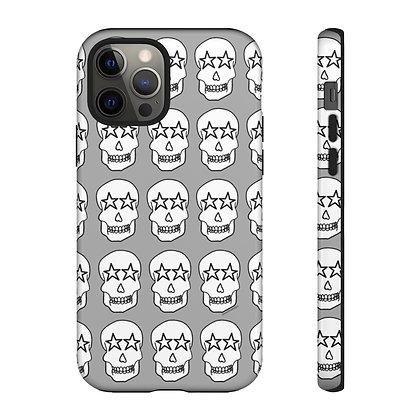 Star Eyed Skull Phone Case