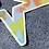 Thumbnail: star tie dye burst sticker