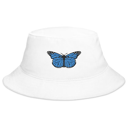 Blue Monarch Bucket Hat