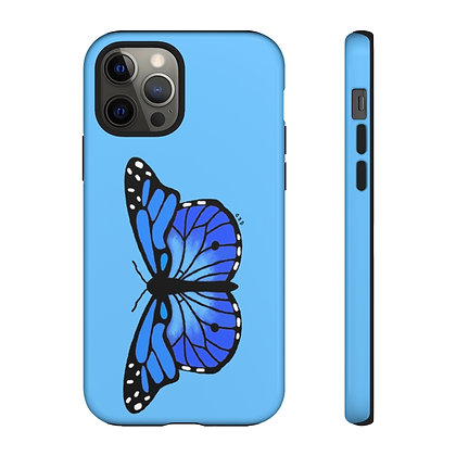 Blue Monarch Phone Case
