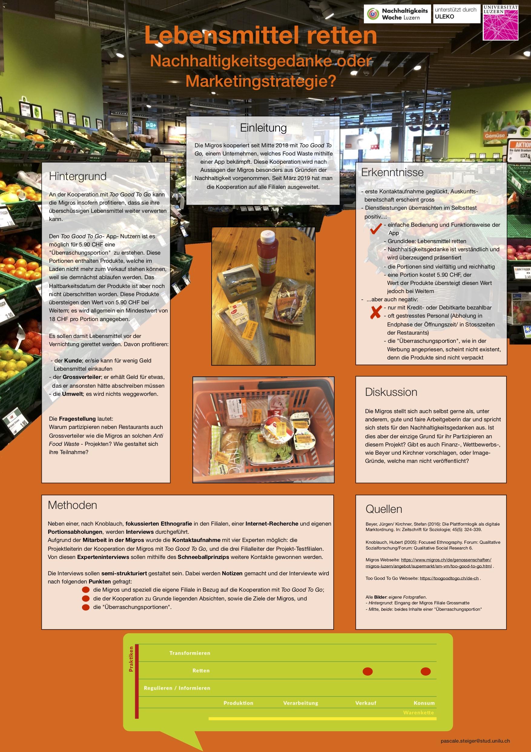 2Steiger_Lebensmittel retten Nachhaltigk