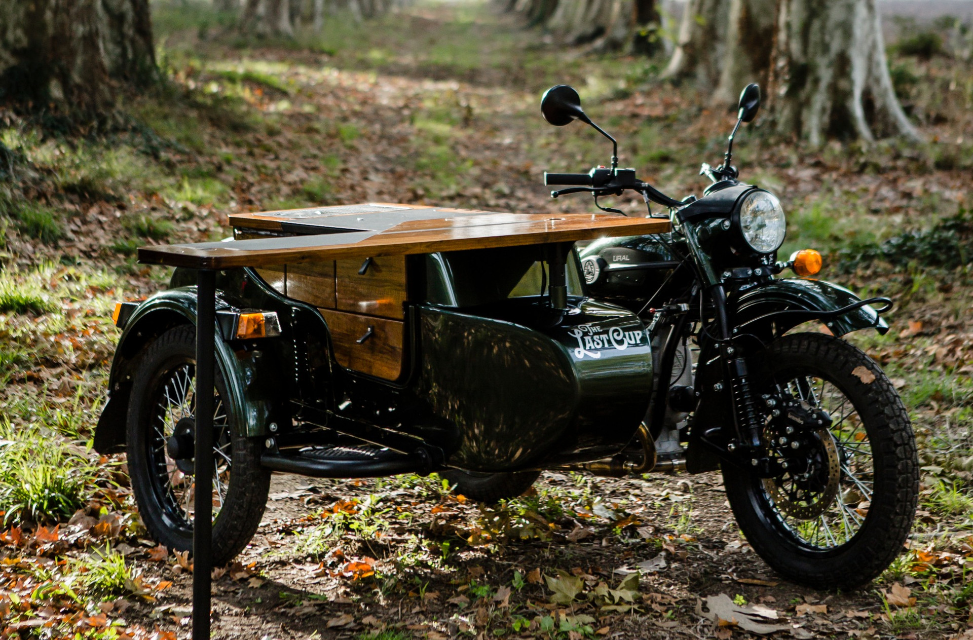 THE LAST CUP / SIDE CAR COFFEE