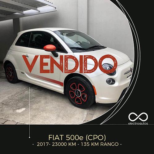 Fiat 500e Sport
