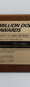 Récompense MSA 1989