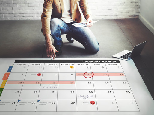 Dates à retenir pour le mois de Mars 2021