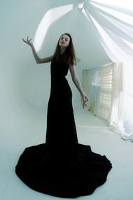 Model - Hannah Gower-Fox Fish eye lens photography