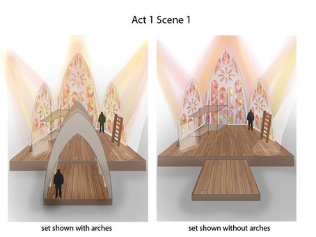 Set Design for The Seven Acts of Mercy