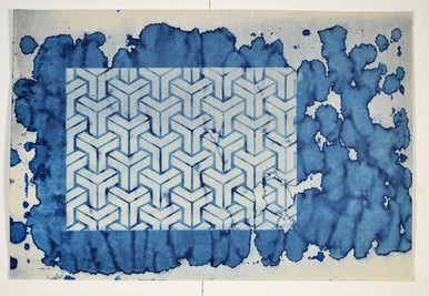 Cyanotype try out.