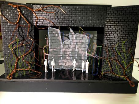 Hamlet Set and Costume Design.