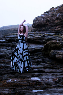 Model - Ffion Saunders Location - Barry Island, South Wales