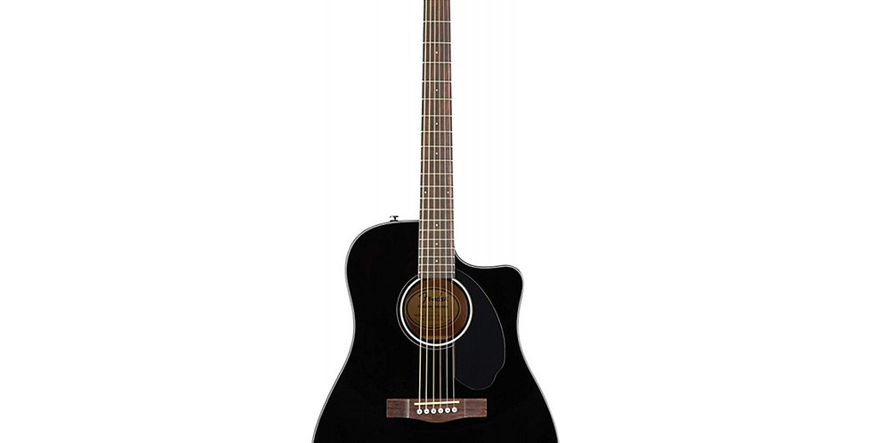 Fender CD-60S CE semi acoustic guitar